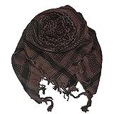 Harrys-Collection PLO Tuch in 20 Farben 100% Baumwolle dick, Farben:braun