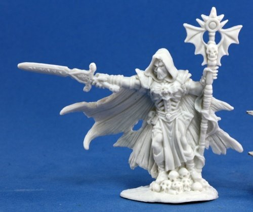 Malek, Necromancer (1) Miniature by Reaper (Reaper Miniaturen Malen)
