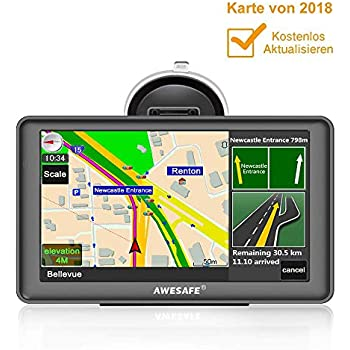 awesafe gps navi navigation 7 zoll touchscreen f r auto. Black Bedroom Furniture Sets. Home Design Ideas