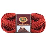 Lion Brand Tweed Stripes Yarn-Mixed Berries,  Other,  Multicoloured
