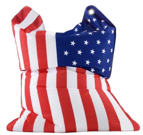 Sitting Bull 633021 Sitzsack Fashion Bull / 190 x 130 cm/Stars & Stripes