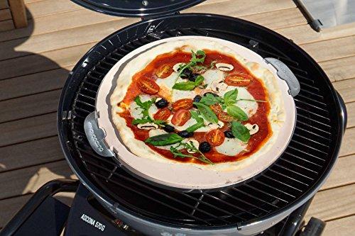 51aXC5Ky4aL - Outdoorchef Grillzubehör, Pizzastein 570, weiß, 41,5x46,5x1,7 cm, 18.211.95