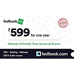 Testbook.com Pass – 1 Year Subscription (Activation Key Card)