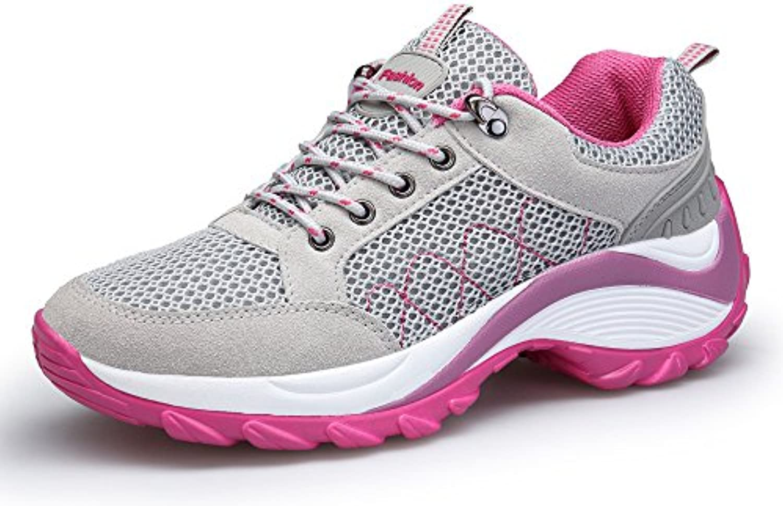 DAFENP Zapatos Zapatillas de Deporte Running para Mujer Gimnasia Ligero Trail Sneakers