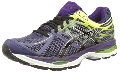 Asics Gel-cumulus 17, Herren Laufschuhe, Blau (indigo Blue/black/flash Yellow 4990), 46 EU