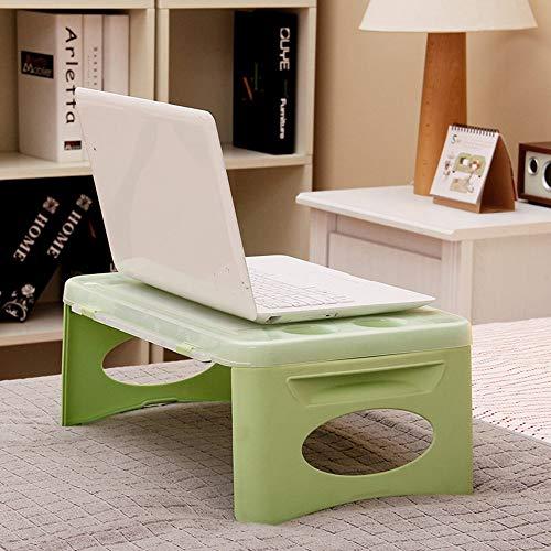 WG Tisch-Plastik faltendes Speicher-Bett-Computer-Schreibtisch-Automobilgebrauchs-kleine Tabelle, die Schreibtisch lernt (Kleiner Computer-schreibtisch-speicher)