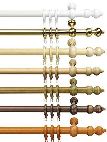 way2way Gardinenstange CLASSIC | weiss 160cm | Vorhangstange | Ø 28mm | viele Farben & Größen