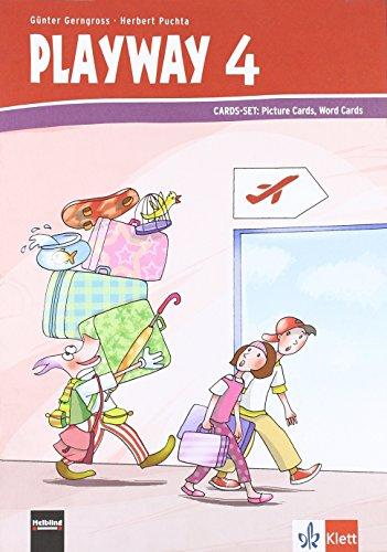 Playway to English - Neubearbeitung. ab Klasse 1 / Ausgabe Baden-Württemberg, Berlin, Brandenburg, Rheinland-Pfalz und Nordrhein-Westfalen: Cards Set 4