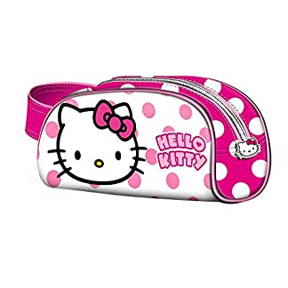 KARACTERMANIA, HELLO KITTY Beauty Case Book Dots – Neceser para niñas