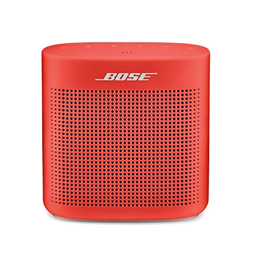 Bose SoundLink Color II - Altavoz Bluetooth, Rojo