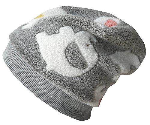 Wollhuhn ÖKO Warme Beanie-Mütze/Babymütze Babyfant für Jungen und Mädchen, 20160802, Größe XXS: KU 36/40 (bis ca 6 Mon.)