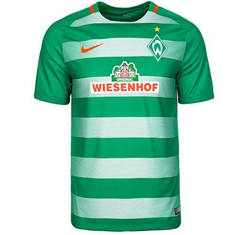 Nike SVW Y NK Dry STAD JSY SS HM - Kurzärmeln T-Shirt Grün - XL - Unisex (Nike T-shirt Jungen Größe 8)