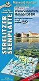 Wasserkarte Strelitz = Wassewanderkarte Strelitzer Seenplatte: 1:50.000 - mit ausführlichen Angel-Informationen - wasserabweisend (Wasserwanderkarten - Maßstab 1:50.000 - wasserabweisend)