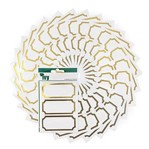 Etichette adesive per barattoli di marmellate e conserve casalinghe, misure: 34 x 75 mm, 225 pezzi