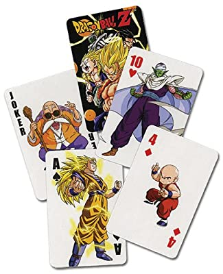 Dragon Ball cartes à jouer poker