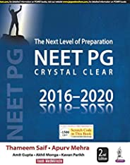 The Next Level of Preparation NEET PG Crystal Clear 2016-2020