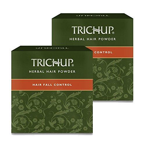 Powder Pack (Trichup Pflanzenhaar Powder-Pack Of 2 Natürliche Henna Powder Haarbehandlung Pulver Hair Care Kit)