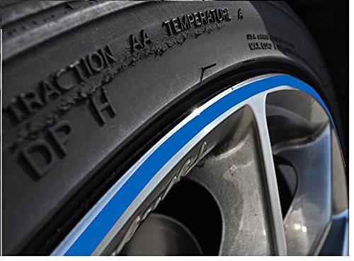 rand Aufkleber 10-24 Zoll Radgröße passend für Motorrad und Auto geeignet ()