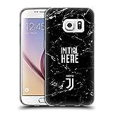 Head Case Designs Personalisierte Individuelle Juventus Football Club Marmor Soft Gel Hülle für Samsung Galaxy S7