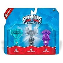 Skylanders Trap Team: Pack De 3 Trampas (Scenter-Aire/Axe-Vida/Hourglass-Magia)