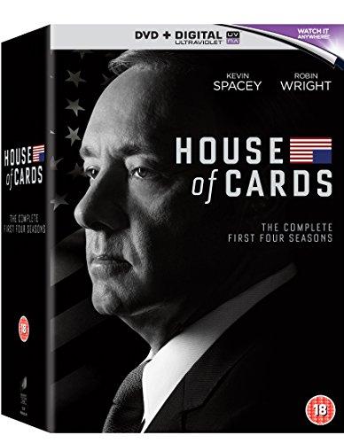 House of Cards - Season 1-4 [DVD] [2016]