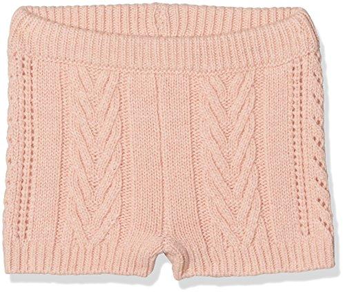 Noa Noa Mädchen Baby Basic Wool Knit Shorts, Pink (Evening Sand 633), 0-3 Monate -