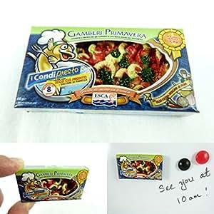 AlboTrade Miniature Magnet Esca Gamberi Primavera (Italian