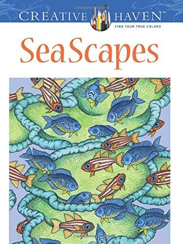 Creative Haven SeaScapes Coloring Book (Creative Haven Coloring Books) por Patricia J. Wynne