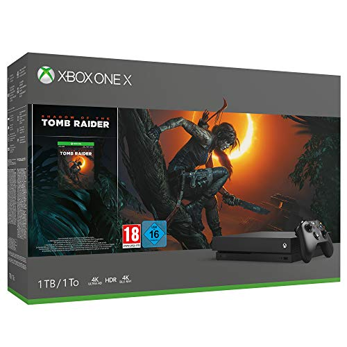 Xbox One X + Shadow of Tomb Raider + 14 giorni di Xbox Live Gold + 1 Mese di Game Pass