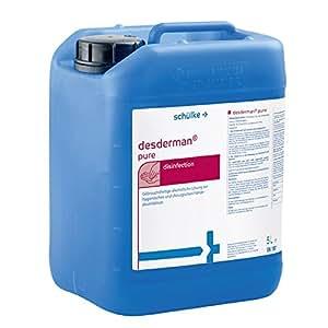 Desderman Pure Handedesinfektion 5 Liter Amazon De Drogerie