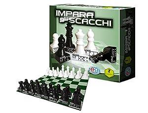 Editrice Giochi 6036101-Juegos Clásicos de Madera Impara gli Scacchi Aprende a Jugar al ajedrez - versión IT