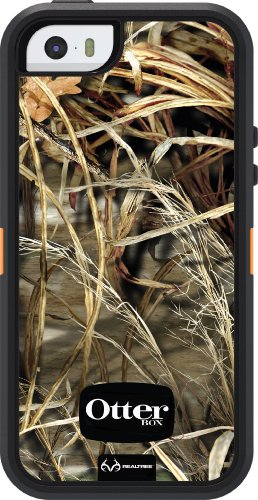 OtterBox Defender Series Schutzhülle für iPhone 5 / 5S / SE, für Retree Max 4HD, geblasen, Orange/Schwarz/max. 4HD Design - Von Otterbox Iphone Amazon 5