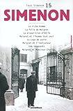 Telecharger Livres Tout Simenon tome 15 (PDF,EPUB,MOBI) gratuits en Francaise