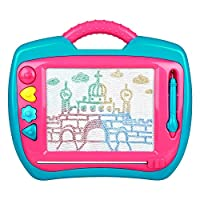 Peradix Magnetic Drawing Boards - Erasable Colorful Doodle & Scribble Board Learning Toys for Kids Painting And Writing