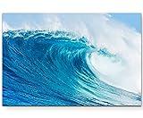 Paul Sinus Art Leinwandbilder | Bilder Leinwand 120x80cm gewaltige Welle im Meer