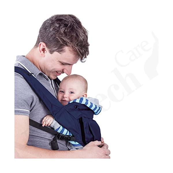 Baby Carrier Hip Seat 100% Cotton - Pocket & Removable Hoodie/Head Support - Adjustable & Breathable - Neotech Care Brand - for Infant, Child, Toddler - Grey Neotech Care 4 WAYS TO CARRY BABY! 1) only hip seat facing you! 2) only hip seat facing outside world 3) hip seat + baby wrapper facing you 4) hip seat + baby wrapper facing outside world! REMOVABLE HEAD SUPPORT! 100% COTTON outer fabric - Comfortable & Breathable! 6