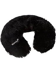 Warmies® Braga Negro con grano de hierbas de relleno de relleno extraíble.