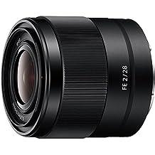 Sony SEL-28F20 Weitwinkel Objektiv (Festbrennweite, 28 mm, F2, Vollformat, geeignet für A7, A6000, A5100, A5000 und Nex Serien, E-Mount) schwarz (Generalüberholt)