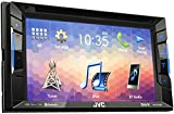 JVC KW V230BT DVD/CD/USB Reciever with Built-in Bluetooth and VGA Resolution 15.7�cm (6.2�inch) Touch Panel Black