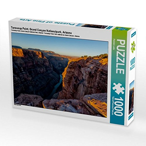 Toroweap Point, Grand Canyon Nationalpark, Arizona 1000 Teile Puzzle quer (CALVENDO Natur) (Geschenk-karten Digital)