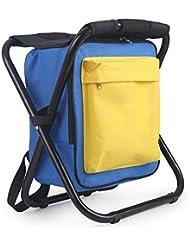 BUSL Chaise de pêche de retour avec un emballage peut être plié chaise de pêche de poissons portable pliant Tabouret de siège de chaise Mazar