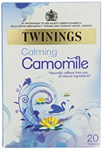 Twinings Pure Camomile Tea 20 Teabags (Pack of 8, Total 160 Teabags)