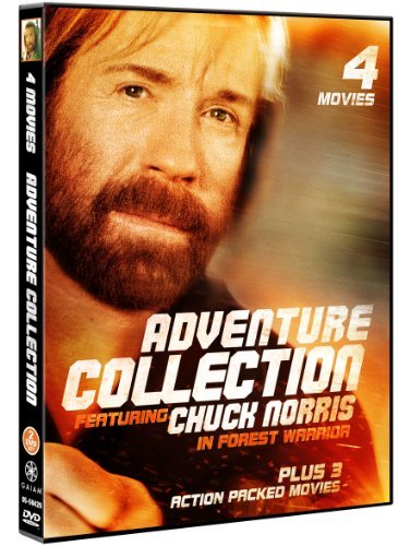 Adventure Collection 4 Movie Pack by Chuck Norris