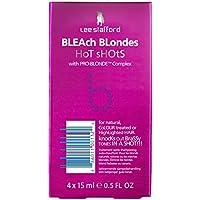 Lee Stafford Bleach Blondes Hot Shots With Pro-Blonde Complex 4 x 15ml preisvergleich bei billige-tabletten.eu