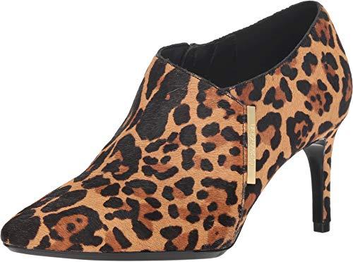 Calvin Klein Women's Jeanna Natural Winter Leopard Haircalf 9.5 M US M (Haircalf Leopard)