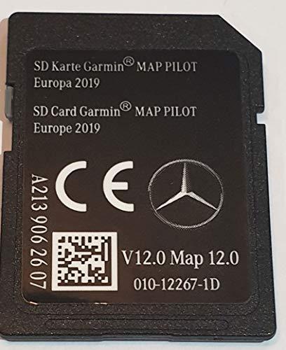 SD Karte Mercedes (Star2) Garmin MAP Pilot Europe 2019 v12 - A2139062607 - C-map