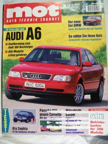 MOT auto-journal, Heft 13/1994 (Touring Test Der)