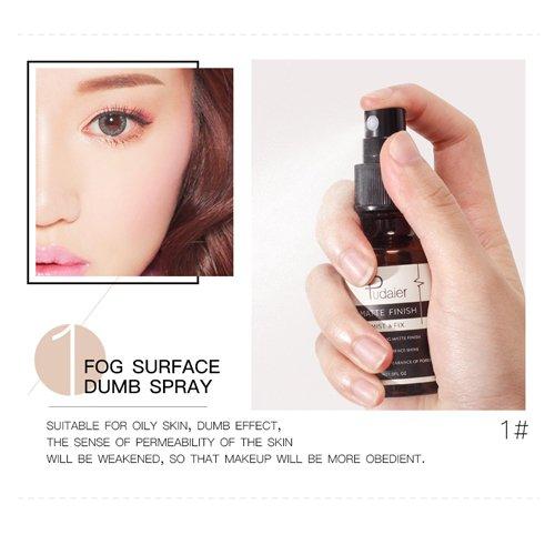 Fixer Spray, feuchtigkeitsspendende Matte und Dewy Finish Gesicht Makeup Fixing Spray lang...