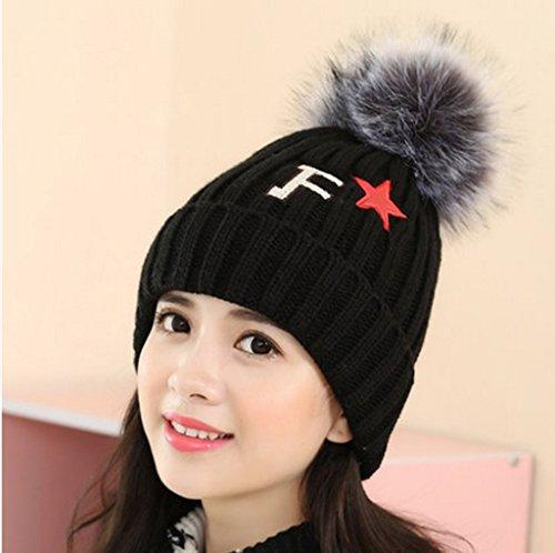 Chapeau Femmes Automne et Hiver Loisir Tab sauvage Tablier épais Chapeau Chapeau anti-froid d'hiver ( couleur : 7# ) # 6