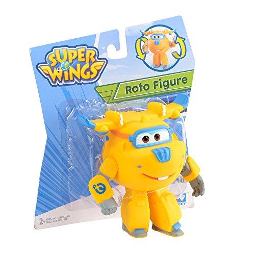 Auldey yw710002Super Wings–Roto Figure Donnie articulado, 12cm